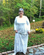 Called to Surf Cavendish Lace Maxi - White Lace Review