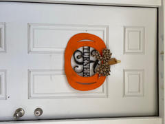 Alphabet Soup Designs Wood Pumpkin with Name and Initial (finished) Review