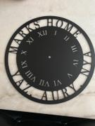 Metal Unlimited Personalized Metal Clock (Roman Numerals) Review