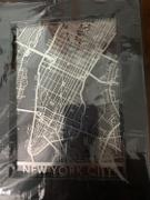 CutMaps New York City - Stainless Steel Map - 5x7 Review