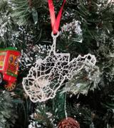 CutMaps West Virginia Ornament Review