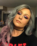 HAIR & BEAUTY CANADA Lika Pink & Gray Kanekalon Fibre Full Lace Wig 22 Long Review
