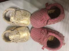 BirdRock Baby Pink Mermaid Baby Moccasins Review