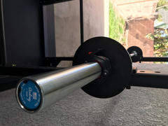 The Strength Co. Olympic Training Barbell - 15kg (33lbs) - Made In USA Review