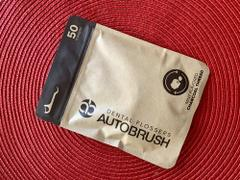 AutoBrush® AutoBrush® for Adults Charcoal Dental Flossers Review