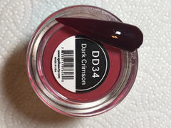 iGel Beauty Dip & Dap Powder - DD034 Dark Crimson - RECOMMENDED FOR DIP Review