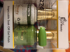 iGel Beauty Dip & Dap Duo - DD224 I Beleaf in You Review