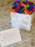 Eternal Blossom 6 Piece Blossom Box - White Box - 20 Colours of Year Lasting Infinity Roses Review