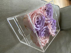 Eternal Blossom 4 Piece Makeup & Storage Box - 21 Colours of Year Lasting Infinity Roses Review