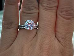 Tiger Gems 3.25 ctw Round Accented Solitaire Ring Review