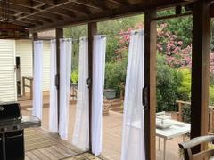snowcity Outdoor Waterproof Double Grommet Curtains Sheer, 1 Panel Review