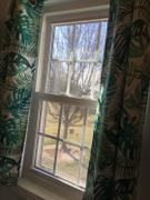 snowcity SNOWCITY Blackout Banana Leaf Short Curtains, 1 Panel Review