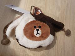 LINE FRIENDS COLLECTION STORE BROWN & FRIENDS PUPPY BROWN STRING POUCH BROWN Review
