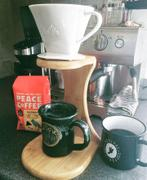 Melitta USA 1-Cup Porcelain Pour-Over™ Coffeemaker with Bamboo Brewing Stand Review