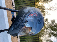 Voss Helmets The 989 Moto-V Gloss Red Serpiente Full Face Helmet Review
