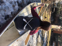 Canoe and Lake Adult Women's Unisex Fit Raglan - Grey & Burgundy Review