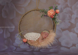 Newborn Studio Props Faux Fur - Baby Pink Review