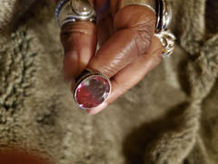 Discovered Watermelon Tourmaline Quartz Silver Ring Review