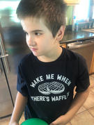 Boredwalk Boy's Wake Me When There's Waffles T-Shirt - Funny Brunch Shirt Review
