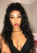 NiaWigs Deep Wave Human Hair Glueless Full Lace Wigs With Baby Hair Review