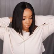 NiaWigs Yaki Straight Human Hair Lace Front Wigs With Natural Hairline Review