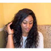 NiaWigs Loose Curly Human Hair Lace Front Wigs With Natural Hairline Review