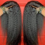 NiaWigs Kinky Straight Glueless Full Lace Wig Thicker Human Hair Wigs Review