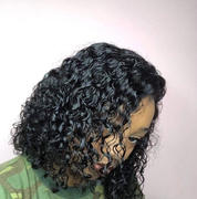 NiaWigs Curly Human Hair 5x5 Inches Lace Front Wigs With Natural Hairline Review