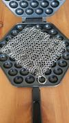 Dapper&Doll Chainmail Scrubber for Cast Iron Pans Review
