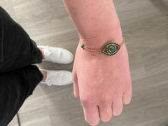 Milestones by Ashleigh Bergman Colored Stone Evil Eye Bracelet Review