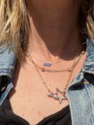 Milestones by Ashleigh Bergman Semiprecious Gemstone Baguette Staple Necklace Review