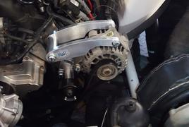 Billet Speed GM LS Alternator Only Bracket and Adjustable Idler System *Type 1*  - Standard & Electric Water Pump Review