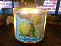 Kringle Candle Company Rosemary Lemon Review
