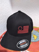 Eagle Six Gear The Black Betsy Ross Flexfit Side Flag Hat Review
