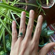 RAW by Olivia Mar Electric Emerald Ring Review
