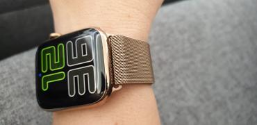 OzStraps Bronze Milanese Loop Apple Watch Band Review