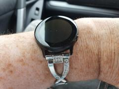 OzStraps Rhinestone Samsung Galaxy Watch Active Band Review