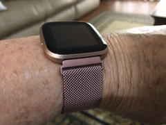 OzStraps Milanese Loop Fitbit Versa Band Review