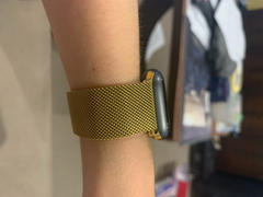 OzStraps Gold Milanese Loop Apple Watch Band Review