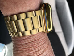 OzStraps Gold Classic Stainless Steel Apple Watch Band Review