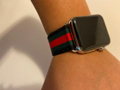 OzStraps Striped & Chequered Woven Nylon Apple Watch Band Review