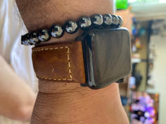 OzStraps Black French Calf Leather Apple Watch Band Review