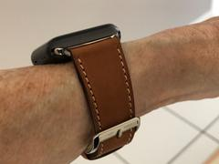 OzStraps Cocoa French Calf Leather Apple Watch Band Review