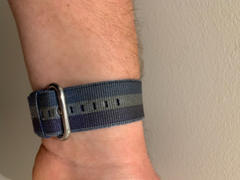 OzStraps 3 Stripe Woven Nylon Apple Watch Band Review