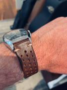 The Sydney Strap Co. DARK BROWN PERFORATED RALLY Review