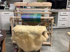Paradise Fibers Louet David Floor Looms with New Sliding Beater Review