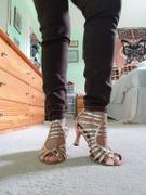 Yami Dance Shoes Sophia - Satin Black & Gold Review