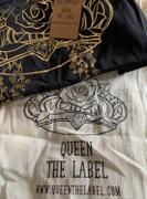 QUEEN THE LABEL Dirty Queen Tee - Black Acid Review