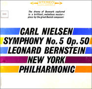 High Definition Tape Transfers Nielsen Symphony No 5 - Leonard Bernstein New York Philharmonic Review