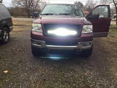 F150LEDs.com 2004-05 PALADIN 32 150W CREE Behind The Grille LED Bar Review